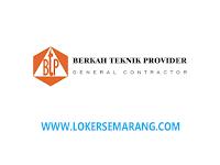 Loker Asisten Marketing di Berkat Teknik Provider Semarang