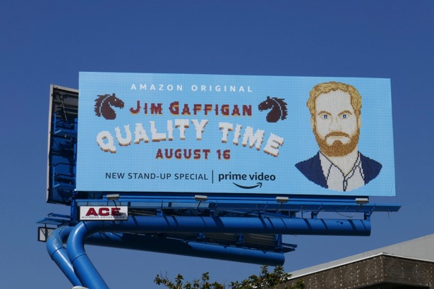 Jim Gaffigan Quality Time standup billboard