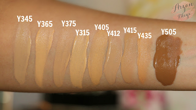 mai Complessivamente impicciarsi  Beauty: Make Up For Ever Ultra HD Foundation Shade Reference