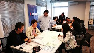 Periodistas de Arica se capacitan en Método Plan Thinking