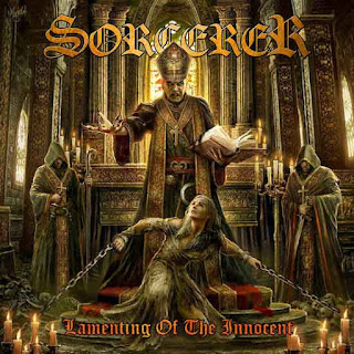 "Το τραγούδι των Sorcerer ""The Hammer of Witches"" από το album ""Lamenting of the Innocent"""