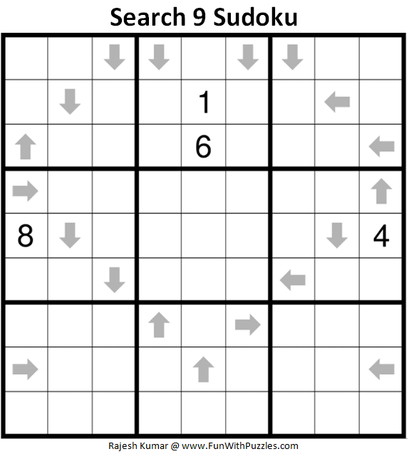 Search 9 Sudoku Puzzle (Fun With Sudoku #311)