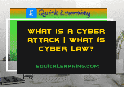 What is a Cyber Attack in Hinid?   What is Cyber Law?
