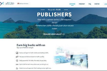 PUBLISHER | YLLIX SITUS PENYEDIA IKLAN ALTERNATIF SELAIN ADSENSE