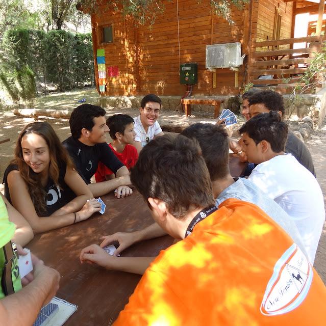 Amigos en el Cazorla Bertliz Camp