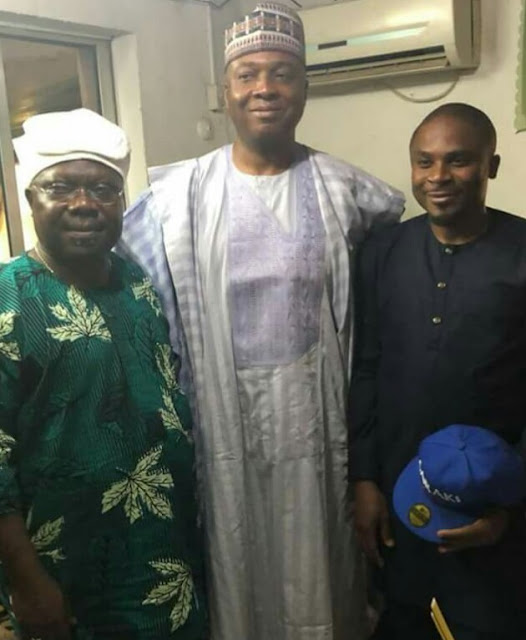 Saraki Meets Omisore in Ile Ife over Osun Rerun