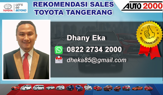 Rekomendasi Sales Toyota Auto2000 Ciledug Tangerang