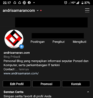 Cara Mudah Membuat Instagram Dark Mode ( Mode Gelap ) di Android