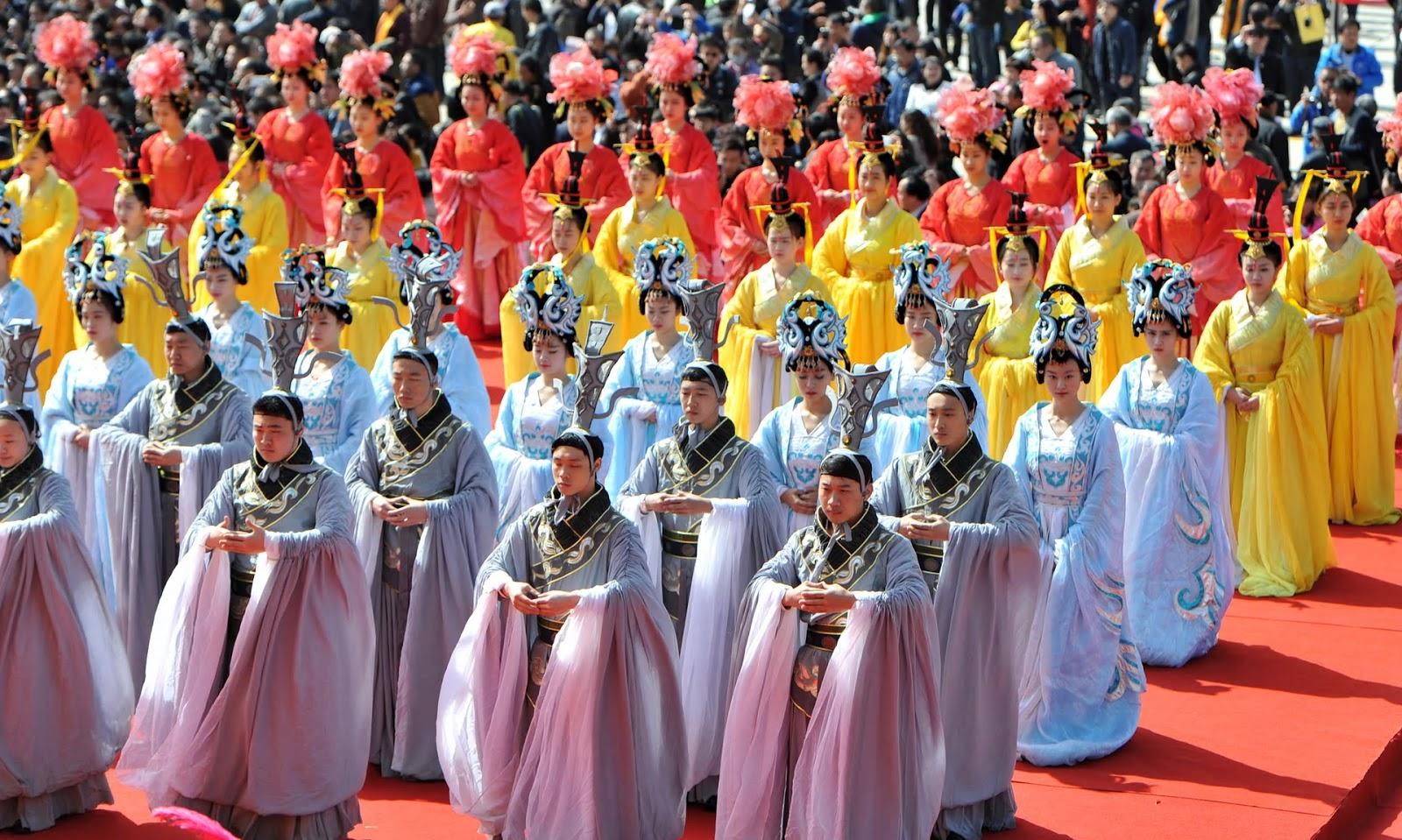 Qingming Festival, Shaanxi Province, China, 2015