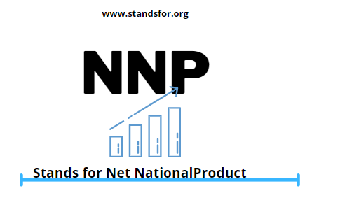 NNP-Stands for Net National Product.