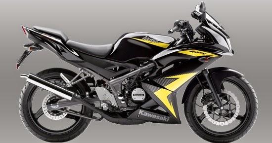 Gambar Kawasaki Ninja 150 RR Warna Kuning