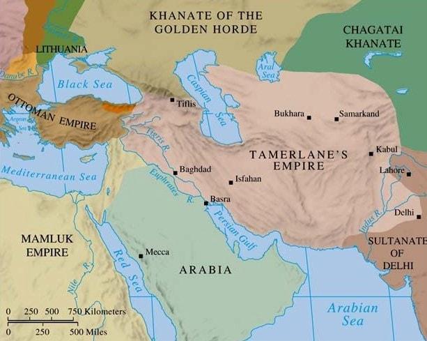 ලෝක ජනගහනයෙන් 5%ක පමණ ප්රමාණයක් ඝාතනය කළ විනාශයේ අධිපතියා - ටිමූර් (ටමර්ලේන්) (Timur (Tamerlane)) - Your Choice Way