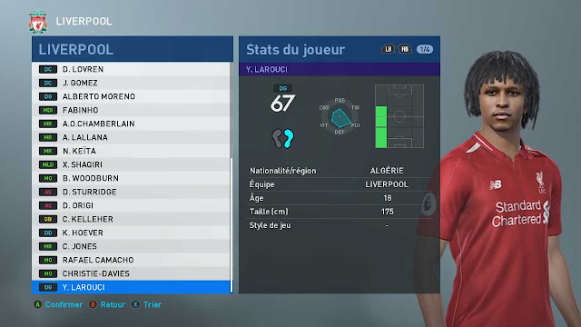 PES 2020 Yasser Larouci Face by TiiToo