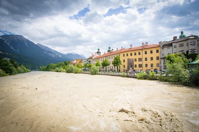 Lungofiume Inn-Innsbruck