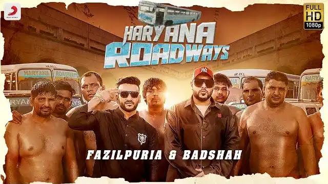 Haryana Roadways Lyrics | Fazilpuria & Badshah | Latest Hindi Songs 2020
