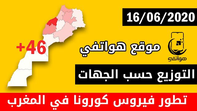 المغرب يسجل 46 إصابة جديدة مؤكدة بكورونا خلال 24 ساعة