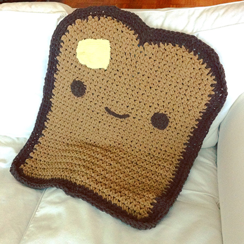 Free Crochet Patterns Childrens Blankets : Crochet For Children: Toasty Blanket - Free Pattern
