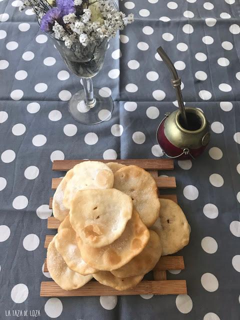 Tortitas para acompañar un café o un mate