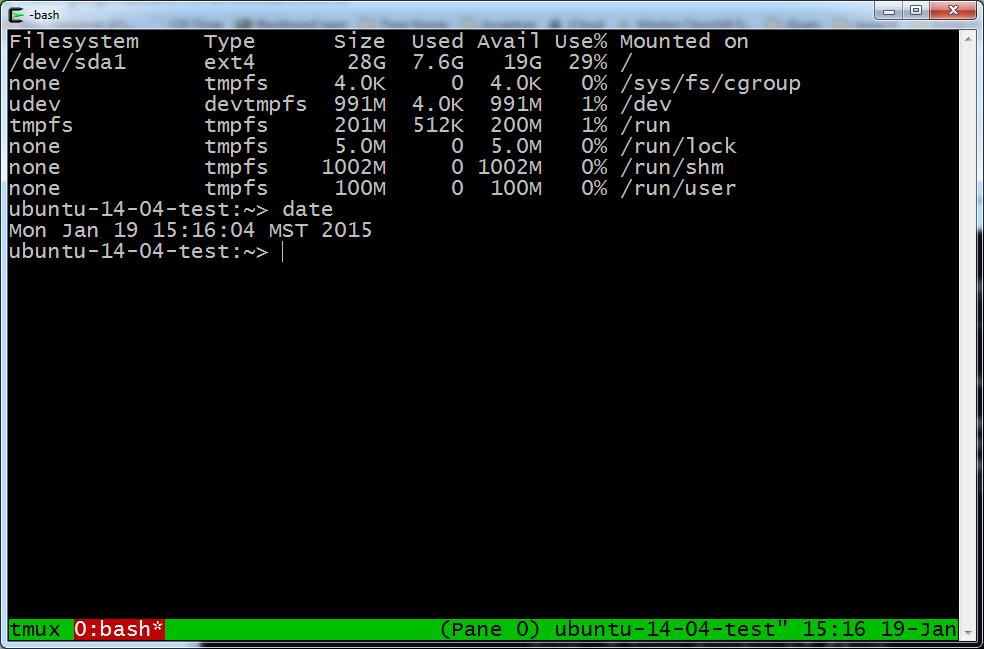 WhiteBoard Coder: Tmux scripting