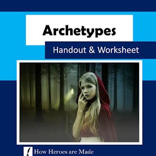 https://www.teacherspayteachers.com/Product/8-Archetypes-Worksheet-Handout-Activities-Distance-Learning-5349695