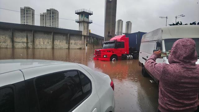 Calamidade em São Paulo