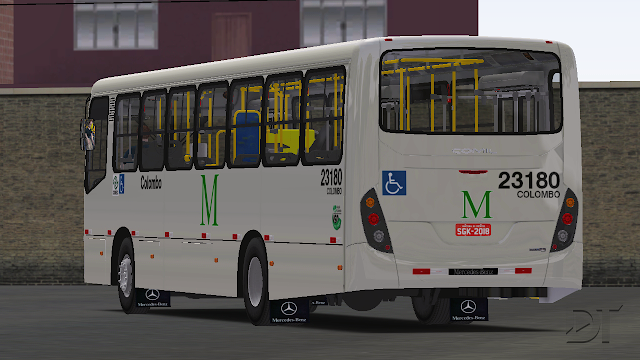 OMSI 2 - Comil Svelto 2012 MB OF-1721 BT5 padrão Curitiba