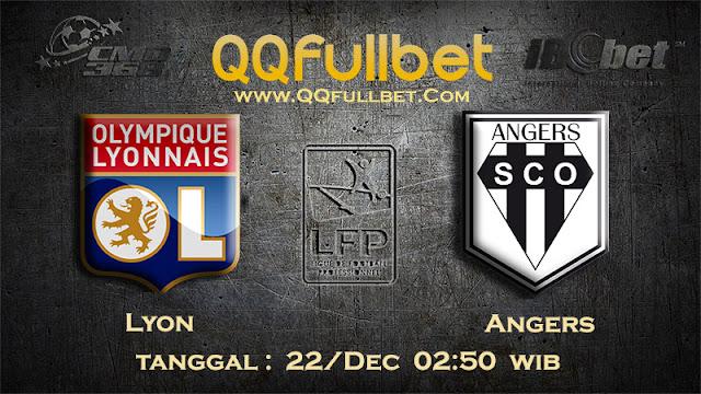 PREDIKSIBOLA - Prediksi Taruhan Bola Lyon vs Angers 22 Desember 2016 (Liga 1 Perancis)