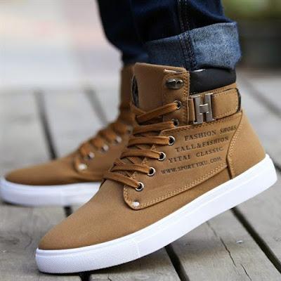 Fashion Sepatu Untuk Laki Laki Masa Kini