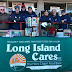 Collecting food for Long Island Cares