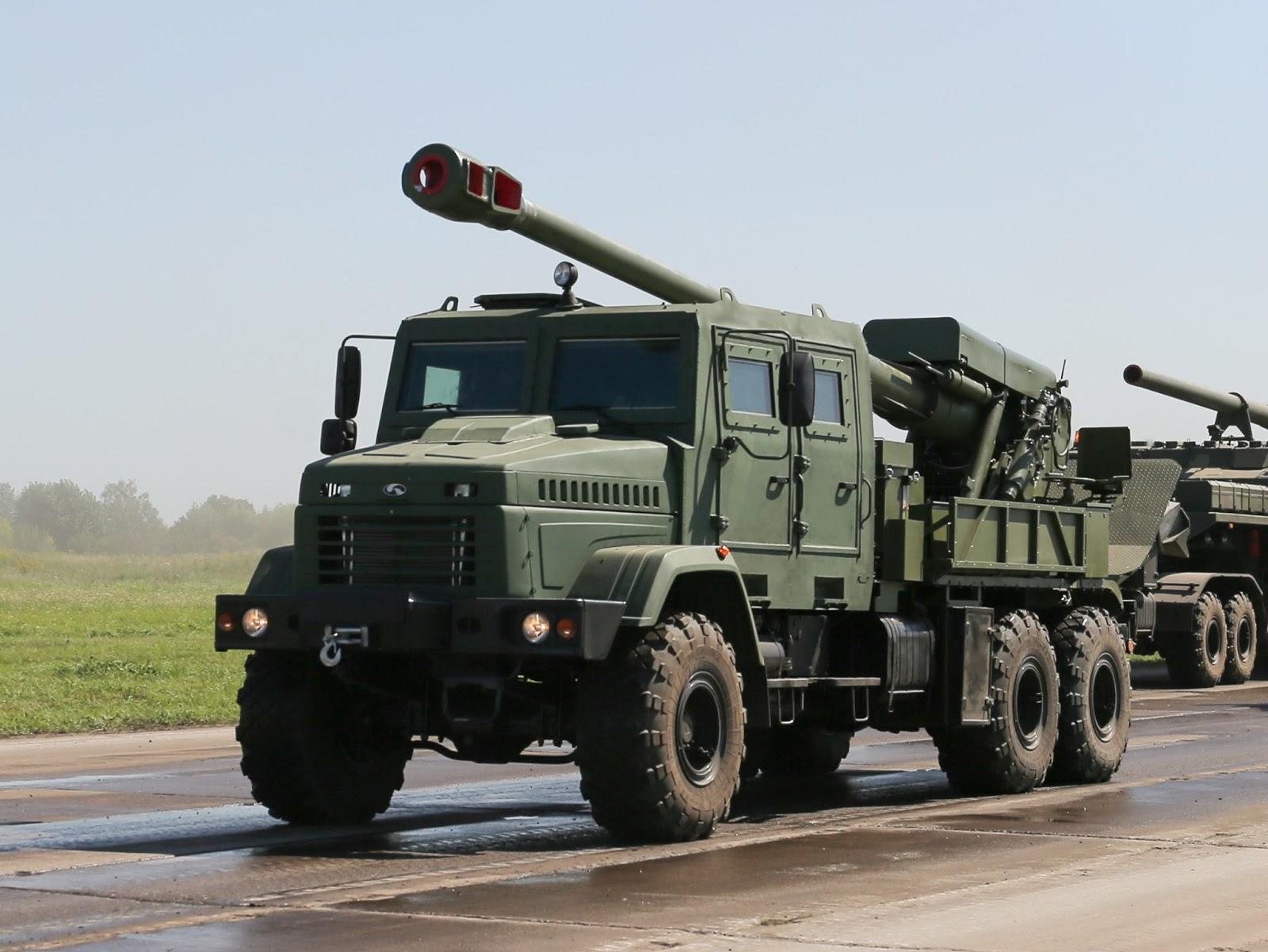 155-мм САУ 2С22 Богдана