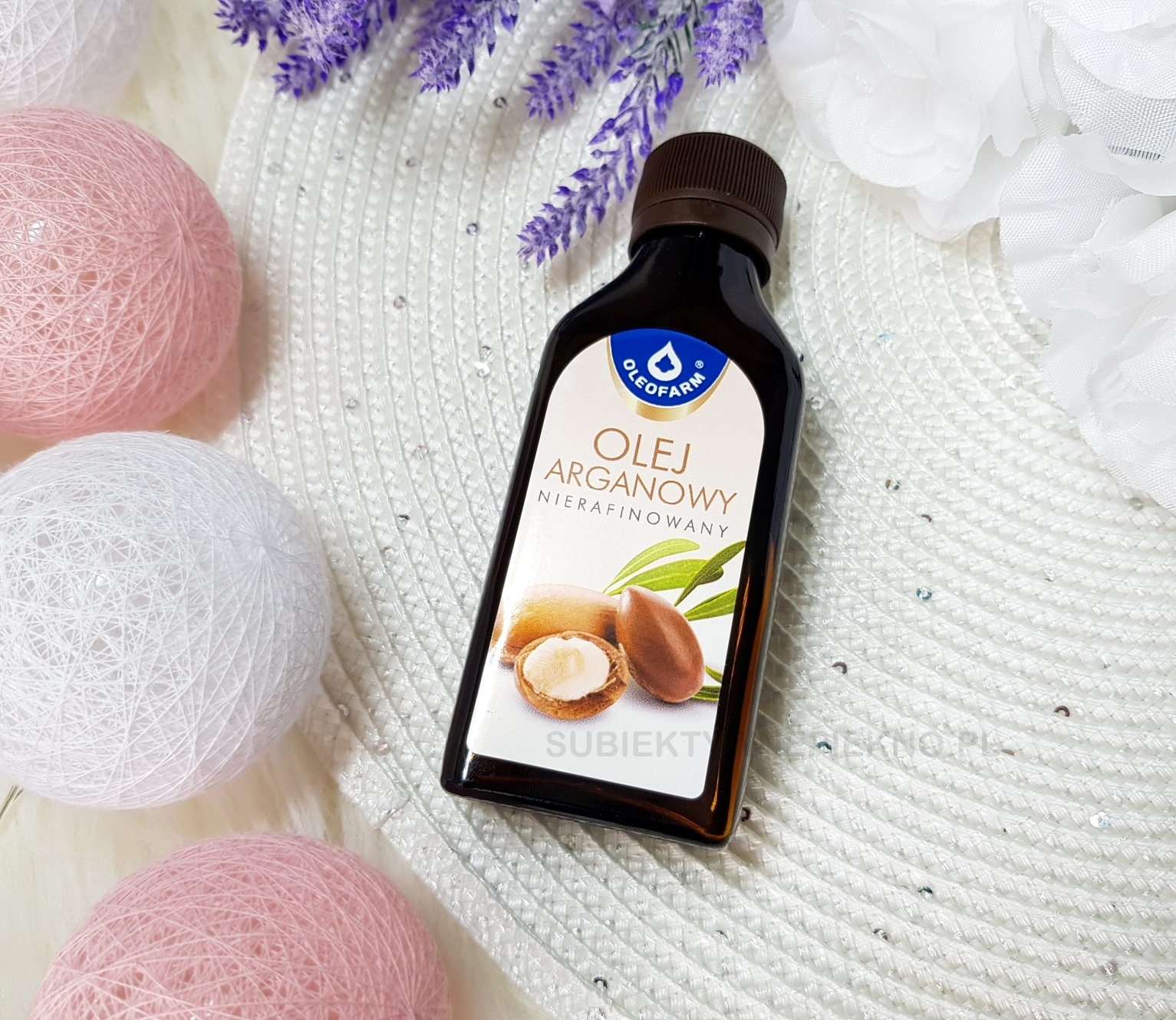 Nierafinowany olej arganowy Oleofarm działanie, opinie, blog