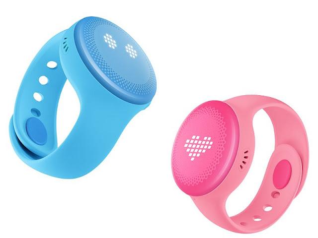 bunny Xiaomi smartwatch para niños azul y rodado