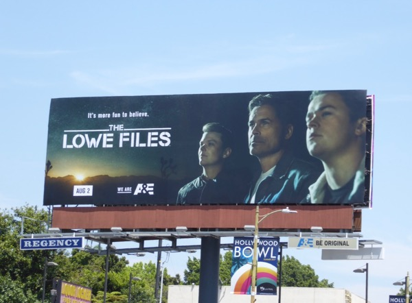 Lowe Files season 1 billboard