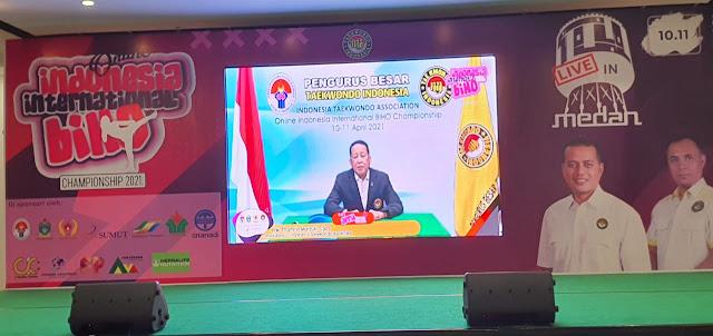 Kejuaraan Taekwondo International Sukses di Gelar Di Sumatra Utara