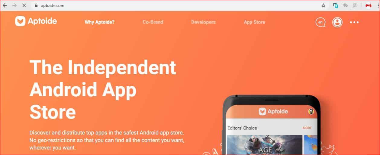 Top 20 Best Free APK Android App Download Site aptoide