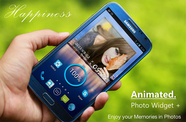 Animated Photo Widget Patched APK