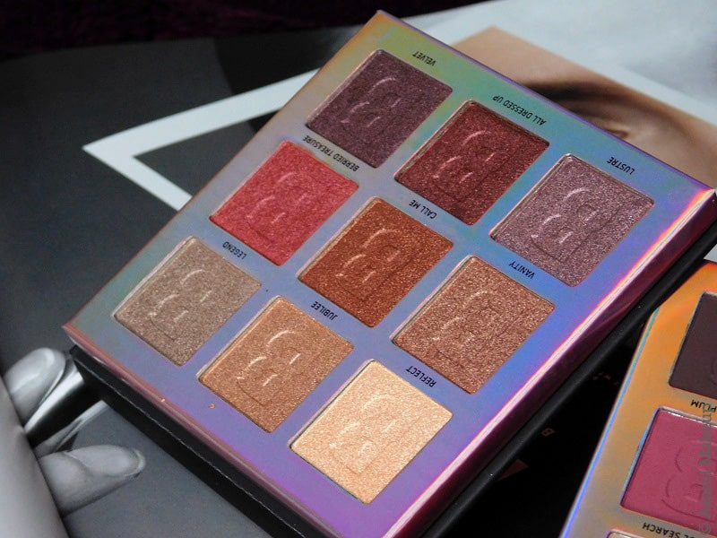 BeautyBay | EYN Berry Matte & Shimmer 9-Colour Eyeshadow Palette - Everything You Need - Swatches & Review - Test Avis - Nude - Bright - Fiery