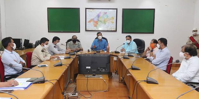 Jabalpur me hospital aanchal kon ki baithak