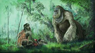 Gigantopiteco e homo sapiens, uno scontro scorretto