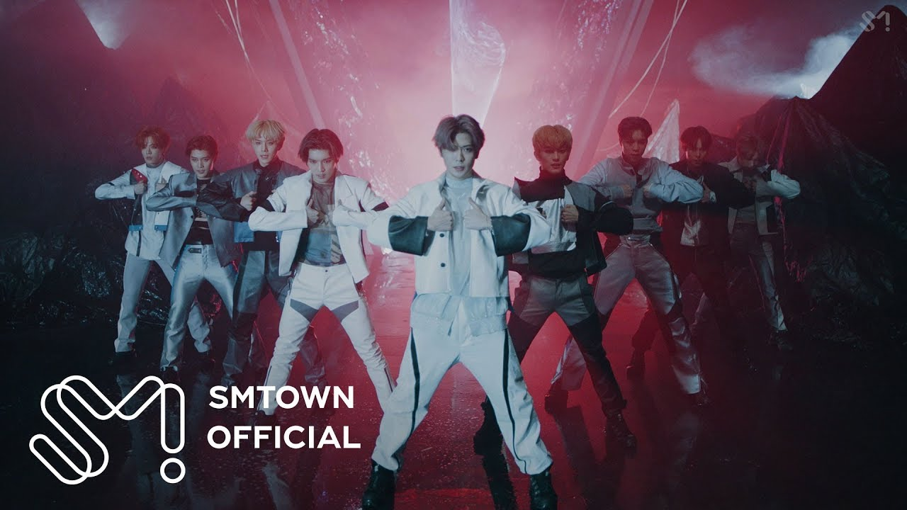 NCT 127 shows choreography and cool visuals on the 'Superhuman' MV