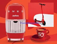 """Concorso Lavazza """"Vinci lo stile italiano 2020"""" : in palio Macchine per caffè Lavazza A Modo Mio Smeg e Monopattini elettrici Fiat 500"""