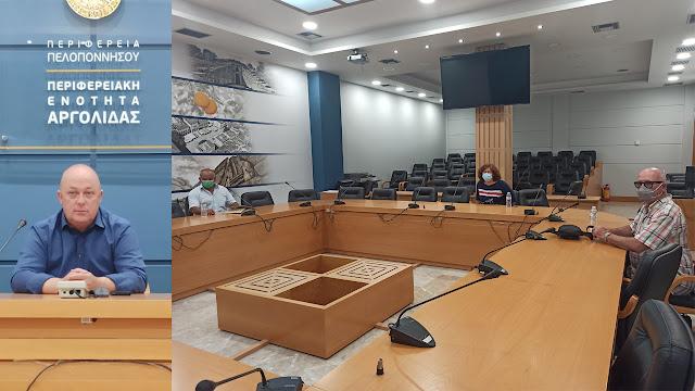 Συνάντηση Μαντζούνη με τα σωματεία Μπριτζ της Περιφέρειας Πελοποννήσου