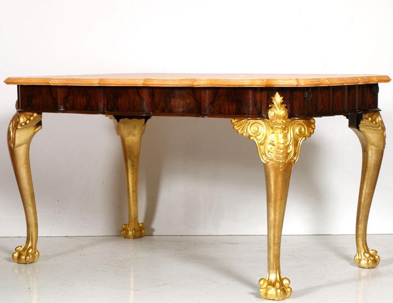 Tavolo barocco foglia oro myArtistic
