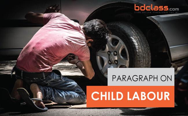 Paragraph on Child Labour