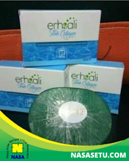 Erhsali Fish Collagen Soap  Anti Aging