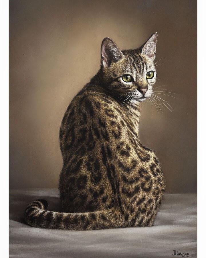 06-Leopard-pattern-cat-Julia-Dubinina-www-designstack-co