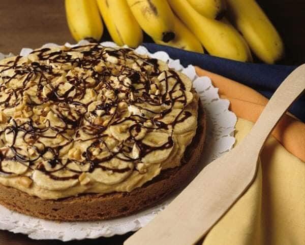 كيك الموز بشوكولاتة النوتيلا اللذيذة