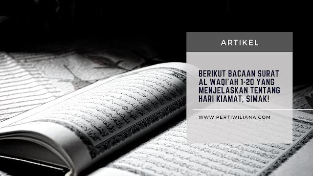 Bacaan Surat Al Waqiah