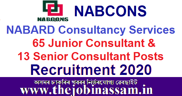 NABARD Consultancy Services Recruitment 2020