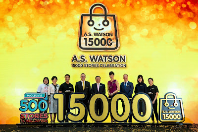 A.S. WATSON GROUP OPENS ITS WORLDWIDE 15,000th STORE IN KUALA LUMPUR